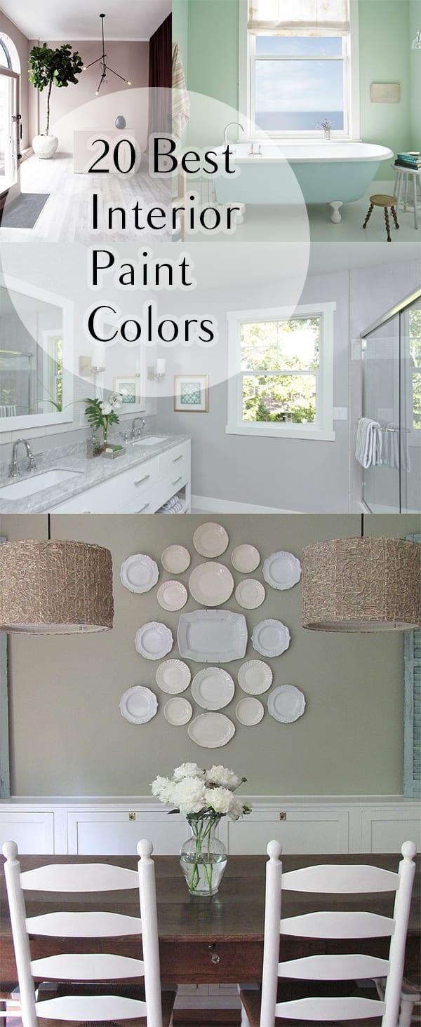 20 Best Interior Paint Colors  How To Build It