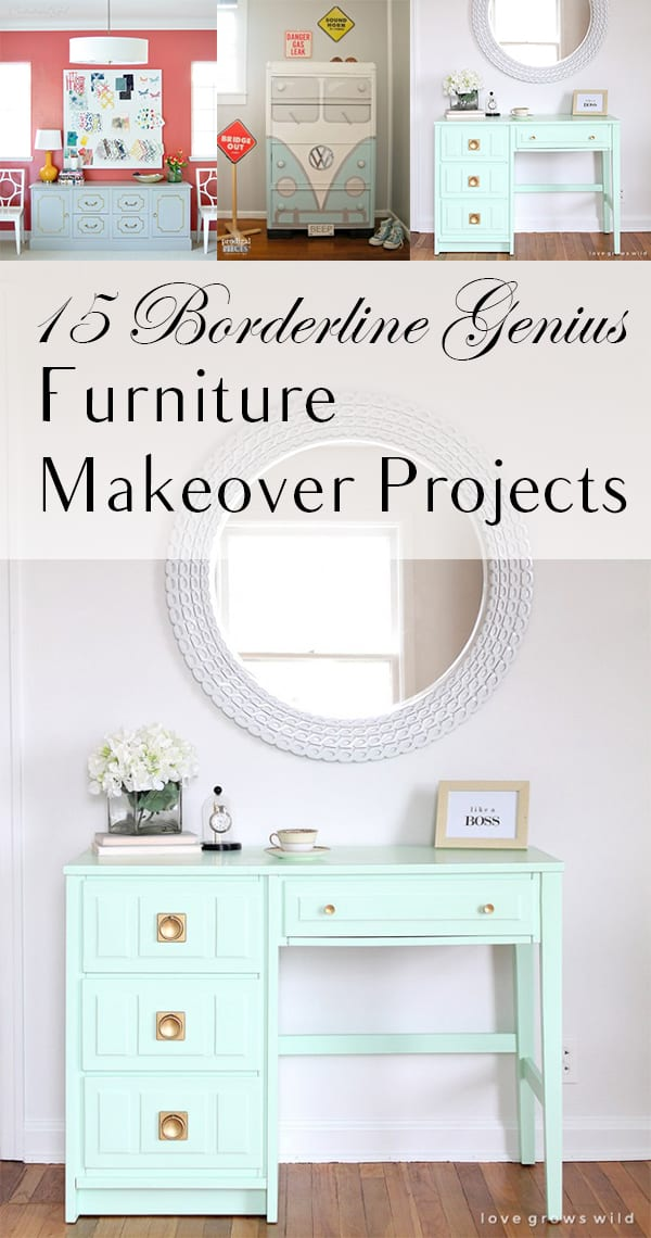 15 Borderline Genius Furniture Makeover Projects Page 2
