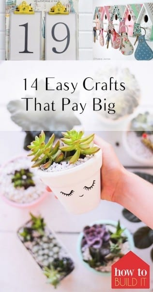 14 easy crafts that