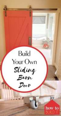 Build Your Own Sliding Barn Door