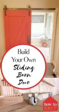 Build Your Own Sliding Barn Door - How To Build It
