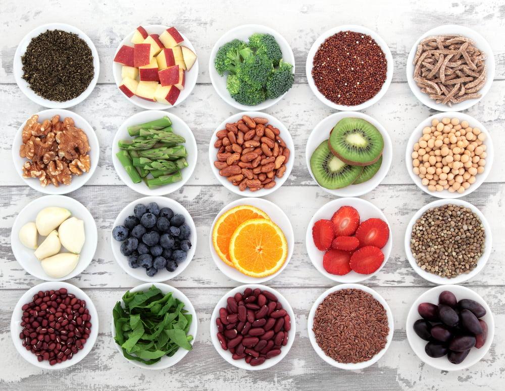 Superfoods Diagram of Foods
