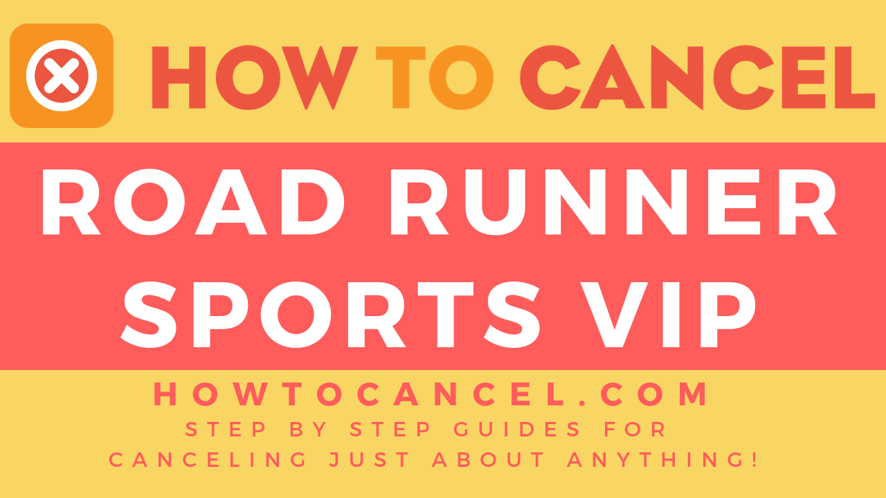 How to Cancel Road Runner Sports VIP - How To Cancel