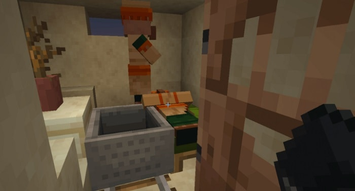 how to move villagers in minecraft ps4