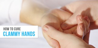 remedies for clammy hands