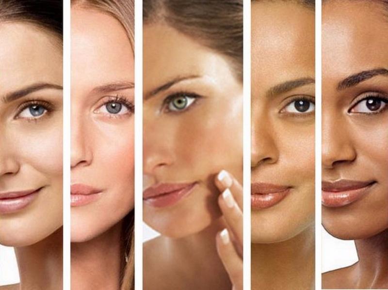 face skin types