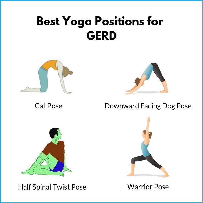 Best yoga positions for Gerd