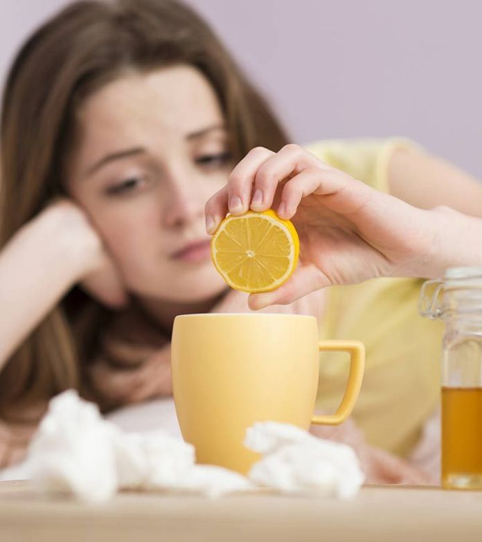 cure nauseous feelings with lemon