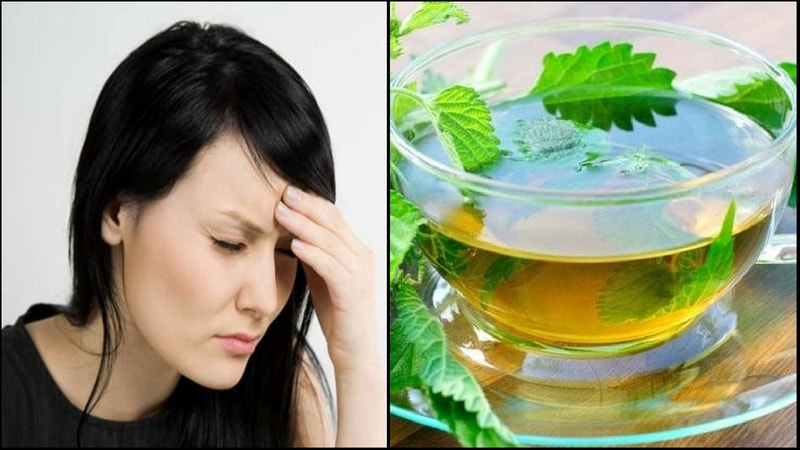 tulsi tea heals headache