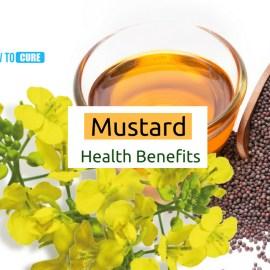 Mustard oil health benefit