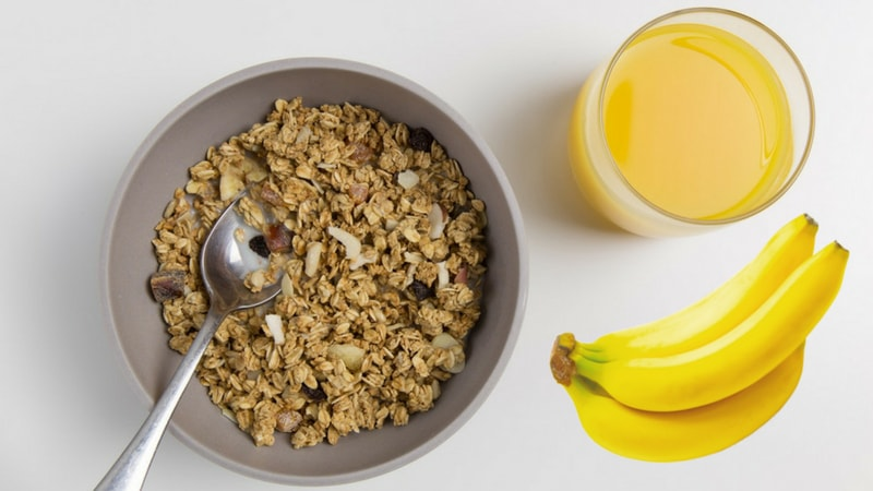 brazil nut and banana smoothie