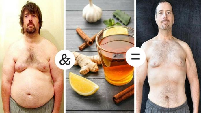 lemon ginger tea to get weight loss