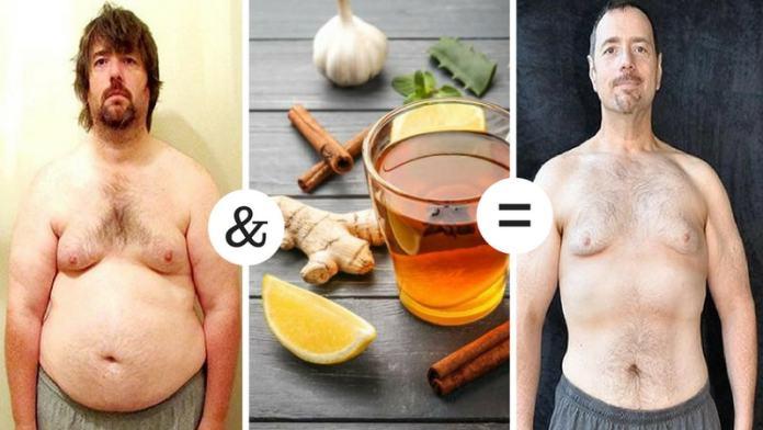 lemon ginger tea to get weight loss