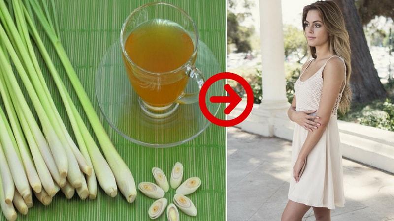 lemongrass tea for healthy skin