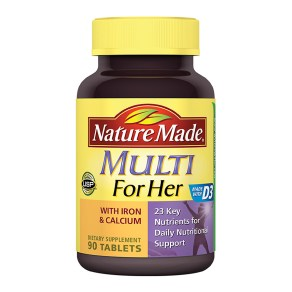 multi vof her with iron multivitamin