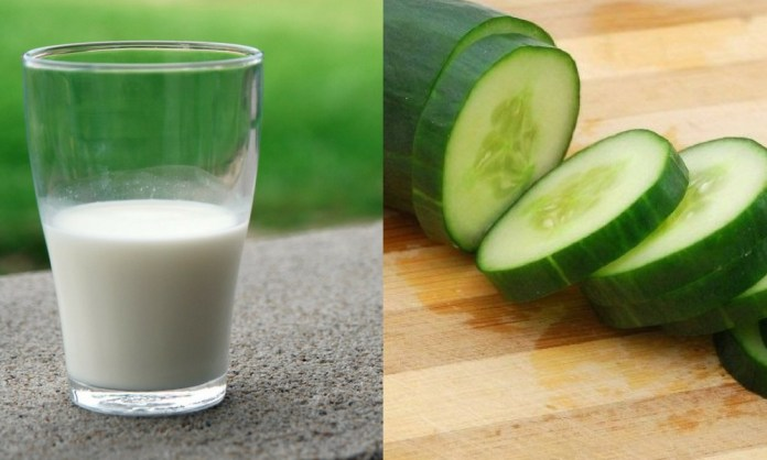 Milk and Cucumber paste for removing Ingrown Hair on C Section Scar