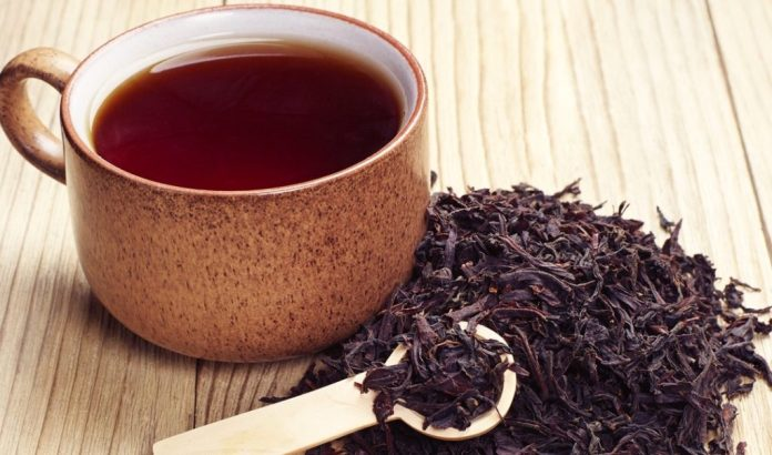 Organic Black tea for wisdom tooth infection