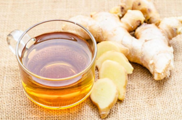 ginger for the cure of stuffy nose