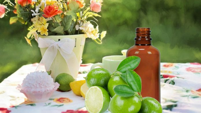 lime essential oil for anxiety