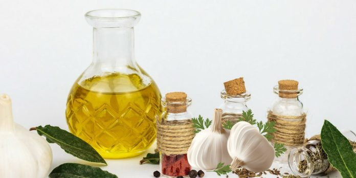 to fight bacterial infection of the middle ear with Garlic Oil