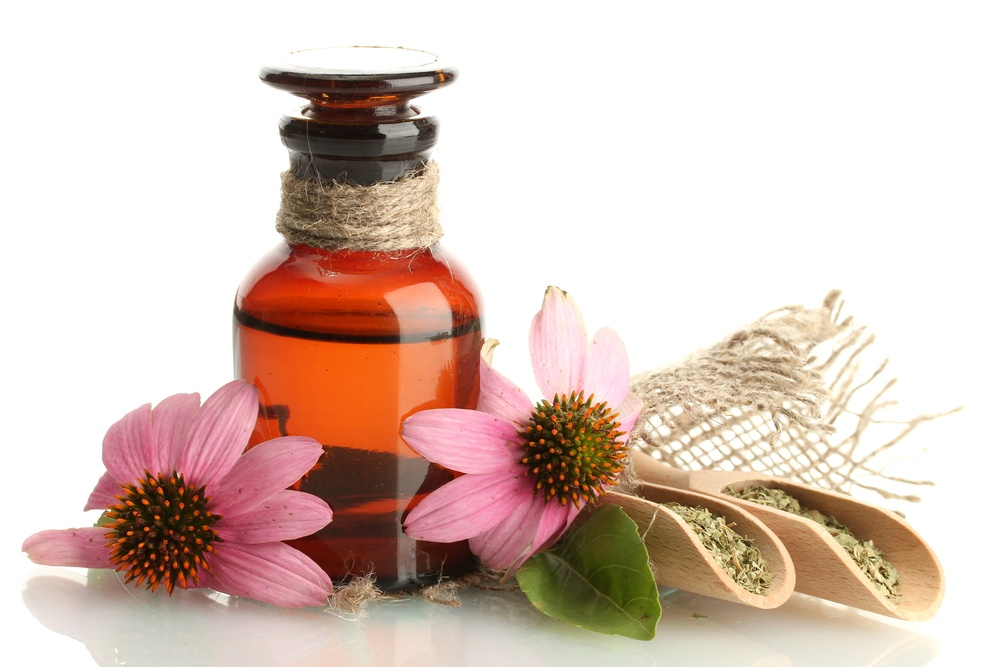 echinacea oil for sore throat