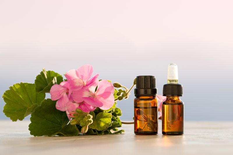 geranium oil for thyroid