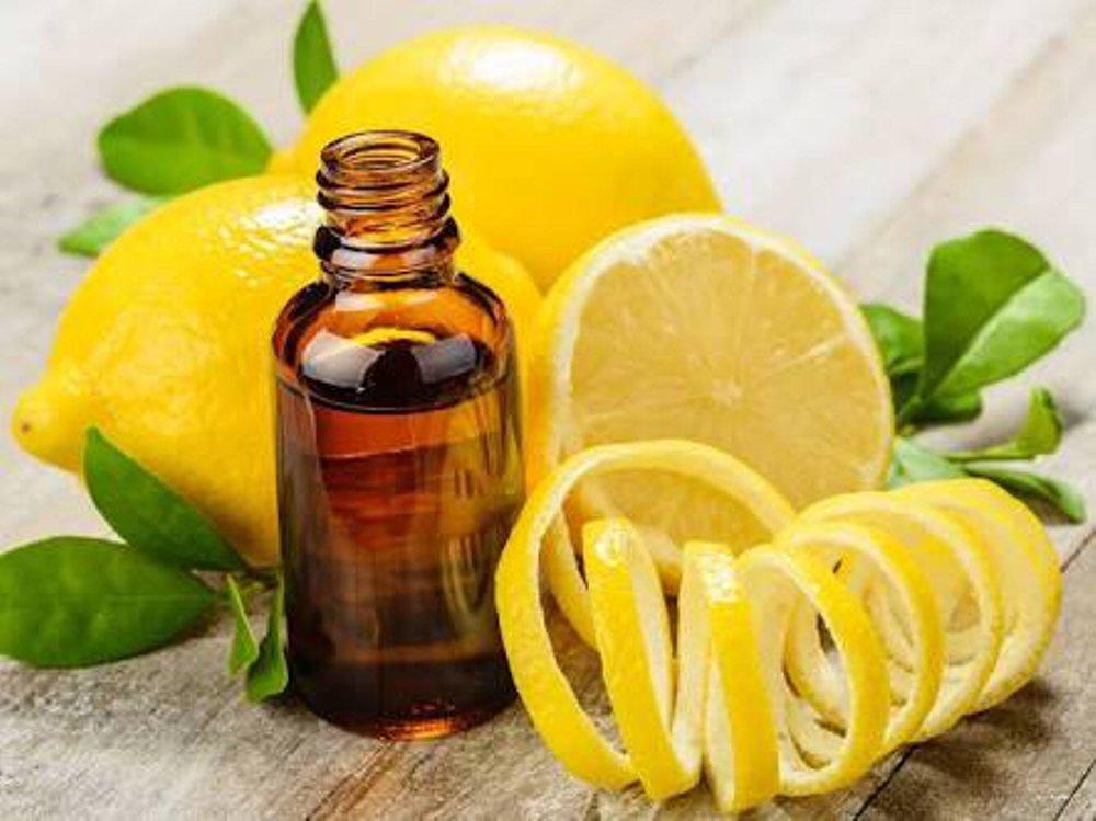 lemon oil for nausea