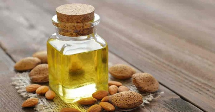 sweet almond oil for dry skin