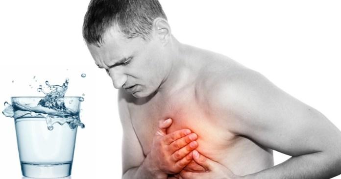 alkaline water for reflux or heartburn