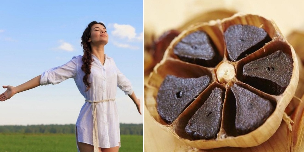 black garlic boost immunity