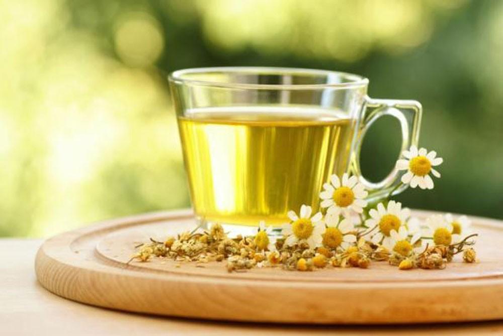 chamomile tea for sun burn