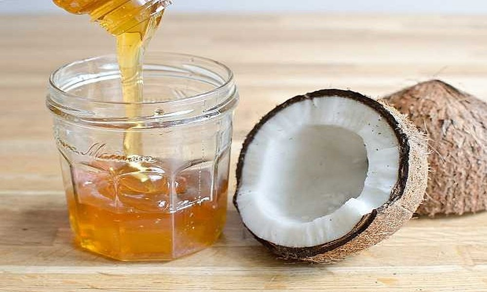 coconut oil with honey for eczema