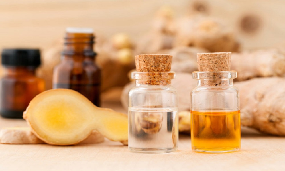 ginger root essential oil for energy