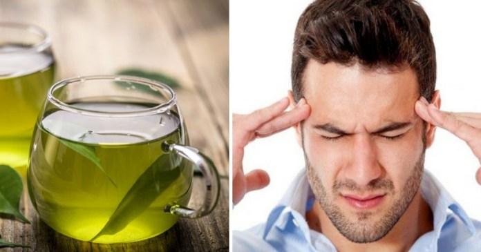 green tea triggers headaches and dizziness