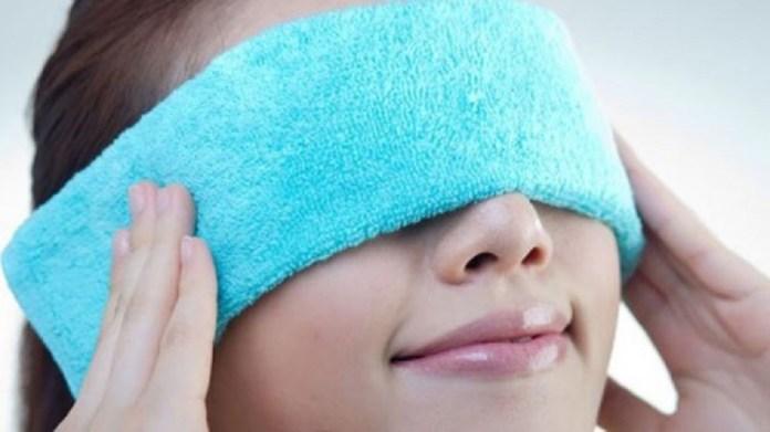 heat compresser for heal black eye