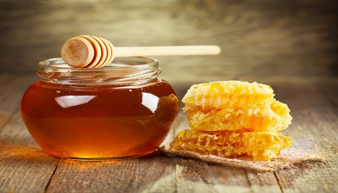 honey to treat blisters