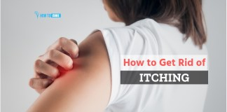 how to get rid of itching