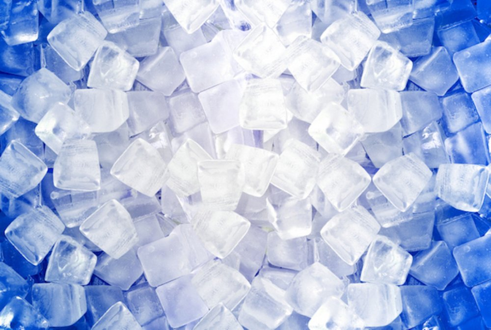 ice cubes for get rid of heat rash