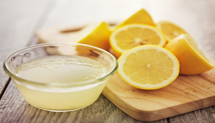 lemon juice to get rid of sebaceous filaments