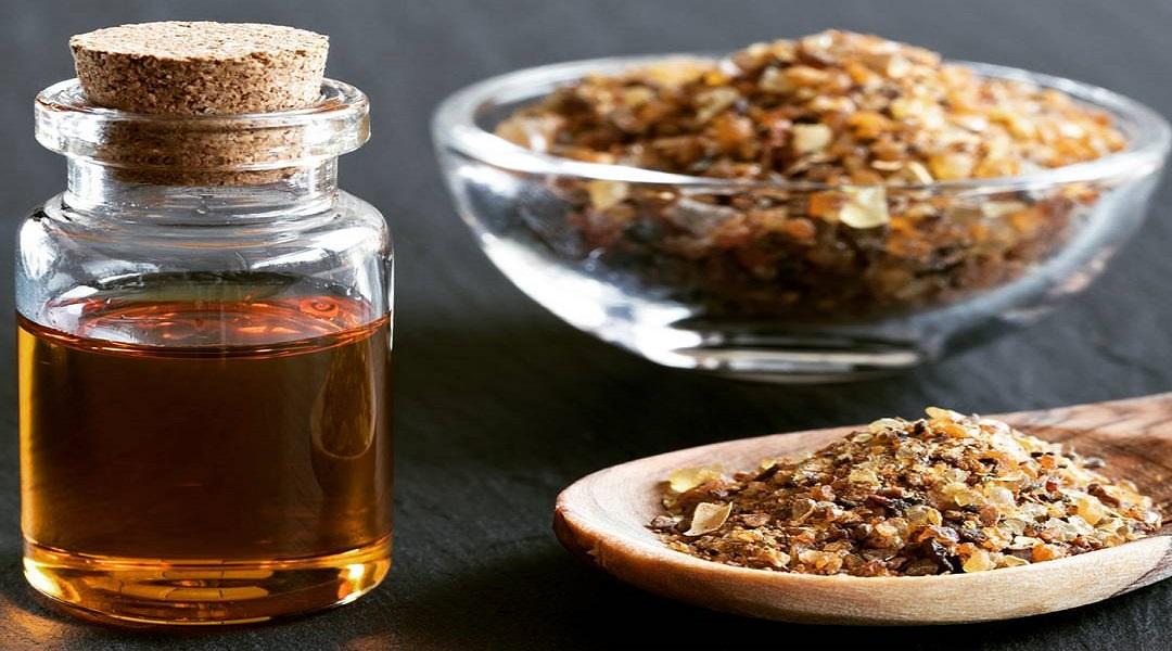 myrrh oil for itching