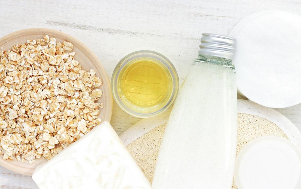oatmeal bath for curing heat rash