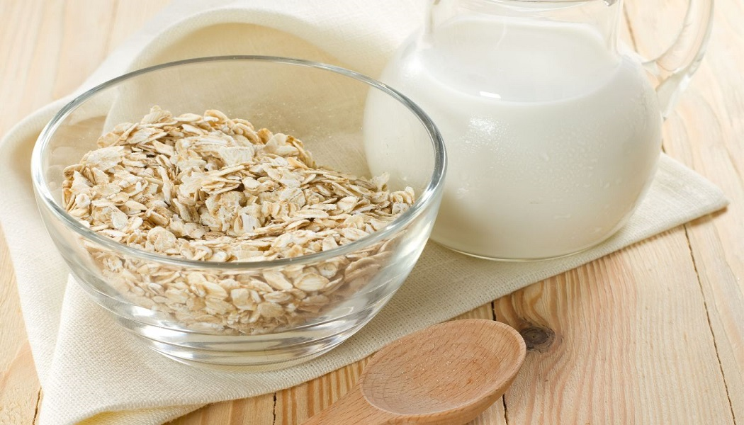 oatmeal water for heat bumps