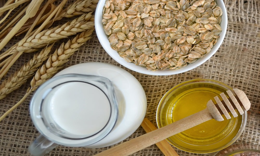 oatmeal with coconut oil for eczema