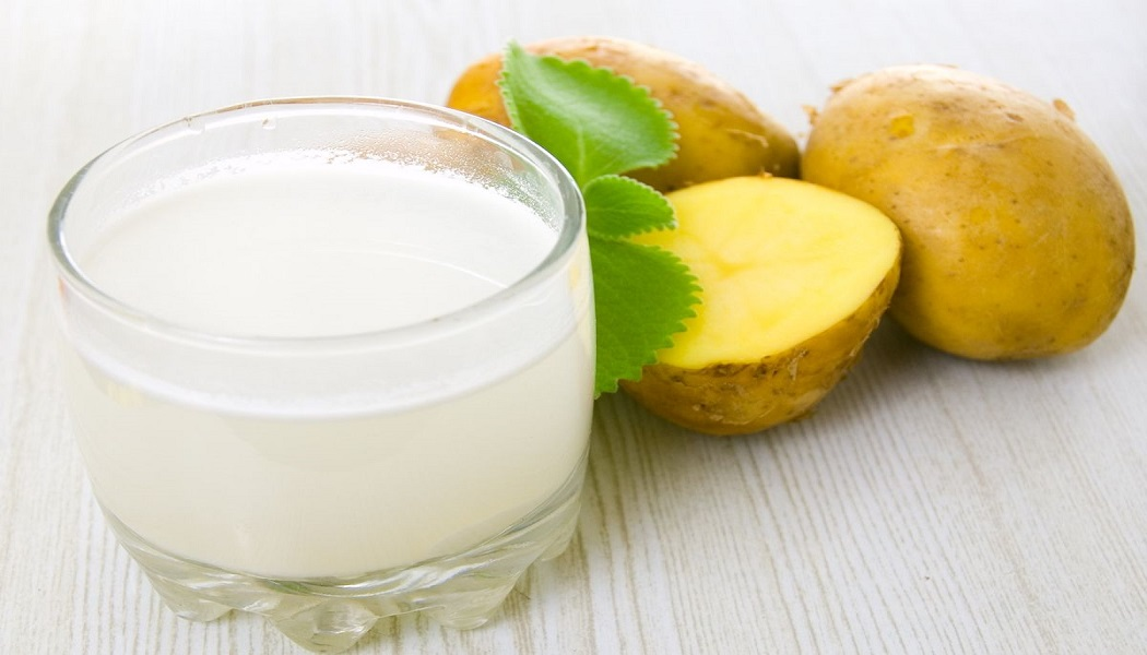 potato juice for cure blemishes