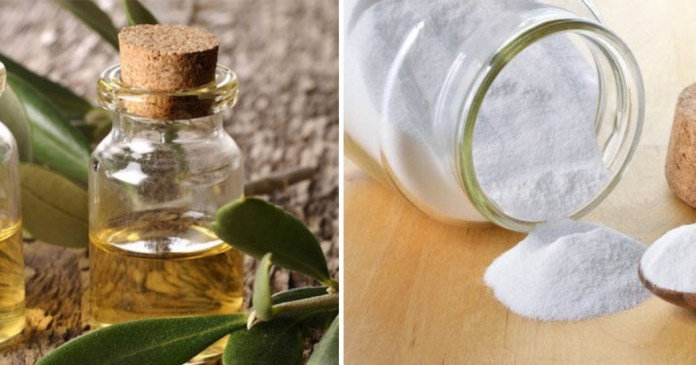 tea tree oil and baking soda for warts
