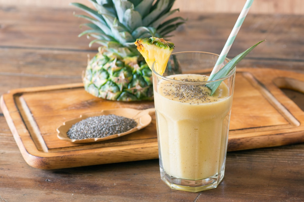 Pineapple Chia Drink-min