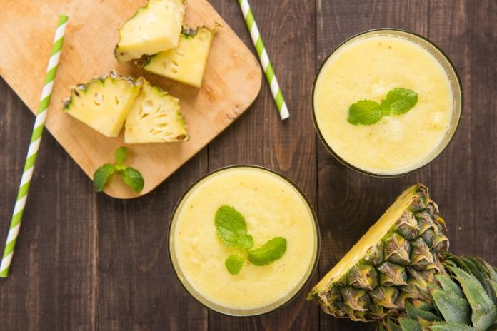 Pineapple Mint Juice-min