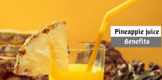 Pineapple juice benefits