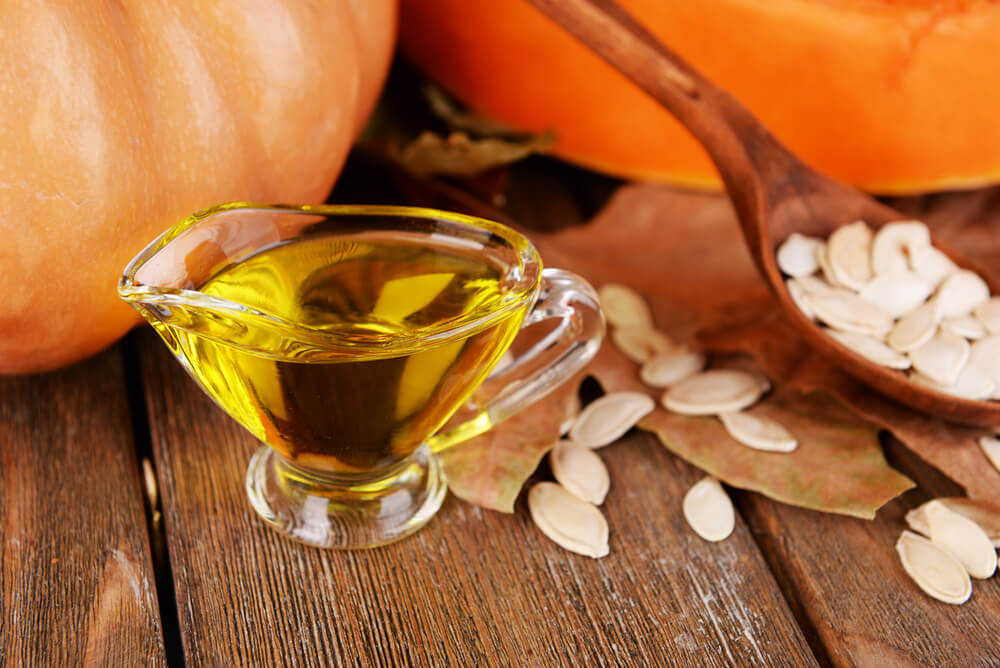 Pumpkin hair oil