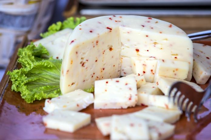 White pepper cheese